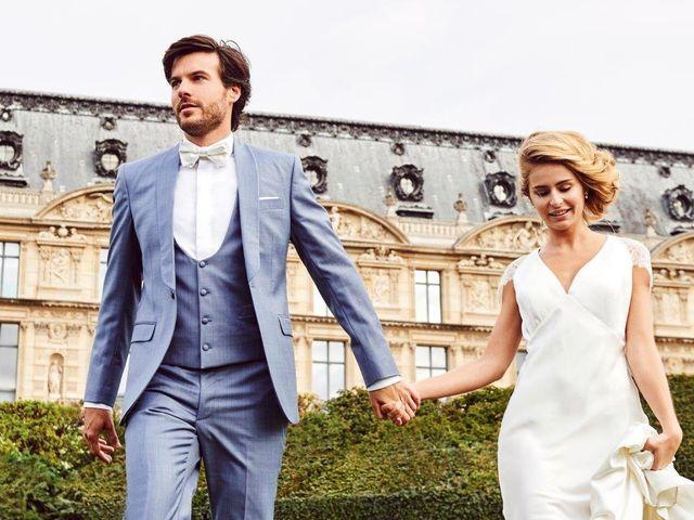Classiques et élégants : 35 costumes de mariage gris