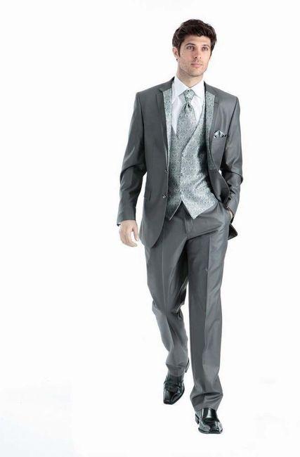 trajes de boda y grises Clásicos elegantes35 Rc354ALqj