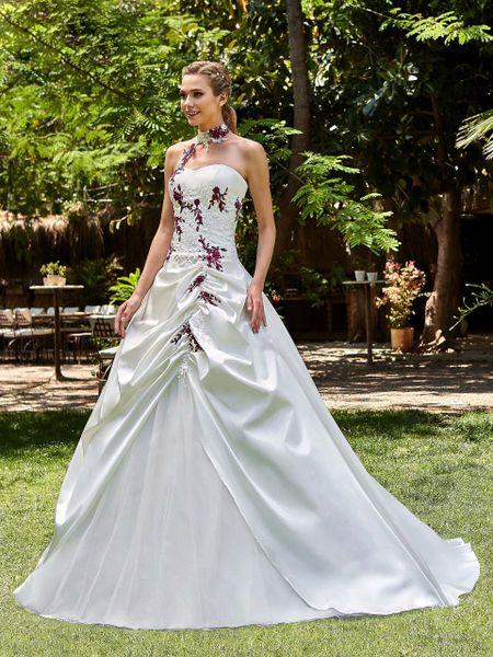 55 Robes De Mariée Avec Des Touches De Couleur