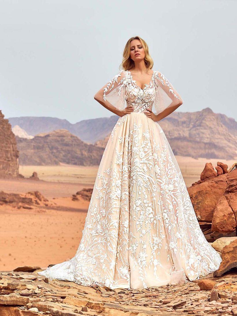 31242545fb98b0 Oksana Mukha : 6 collections de robe de mariée aux styles variés