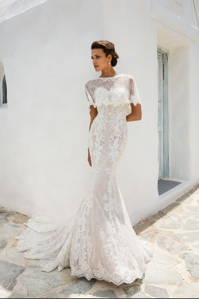 0e6a7081ca9 90 robes de mariée en dentelle pour un look romantique