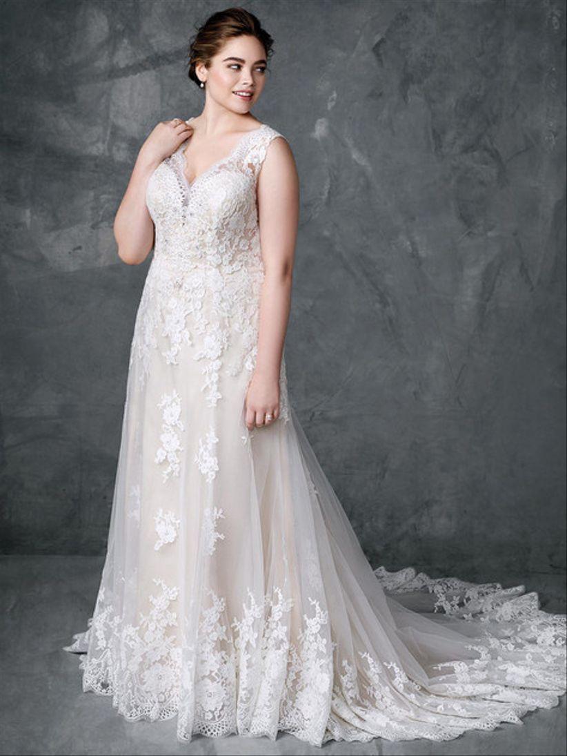 Photos robe de mariee pour femme ronde