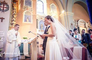 Textes de mariage pour la première lecture de la cérémonie religieuse