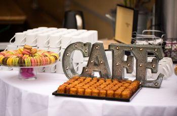 Bar à café : la tendance du moment pour votre cocktail de mariage