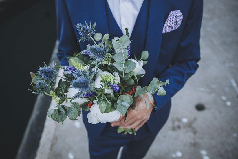 bleu navy : 30 idées irrésistibles pour votre décoration de mariage