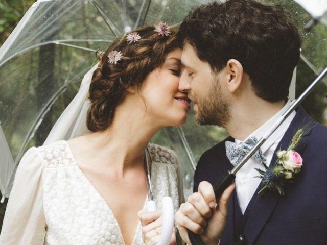 Mariage sous la pluie : les plus belles photos !