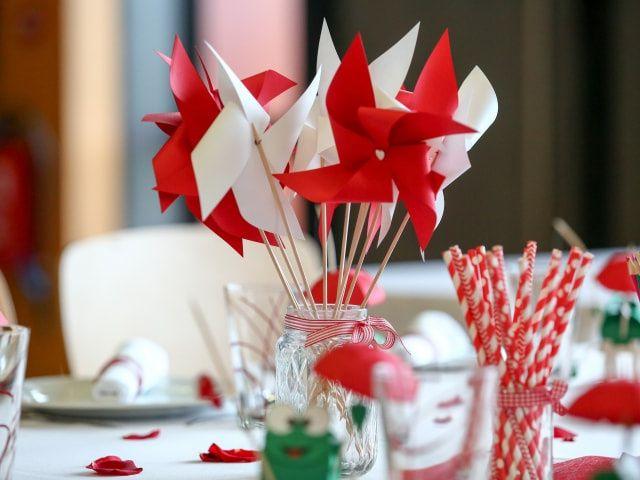 10 idées originales pour des centres de table sans fleurs