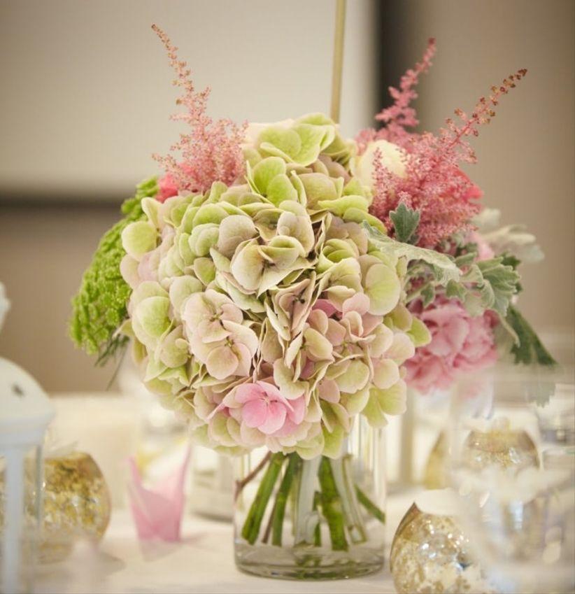 32 id es de centres de table avec fleurs - Fleurs printemps idees originales pour une belle deco florale ...