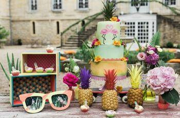 Tropical chic : tout pour un mariage à la pointe de la tendance
