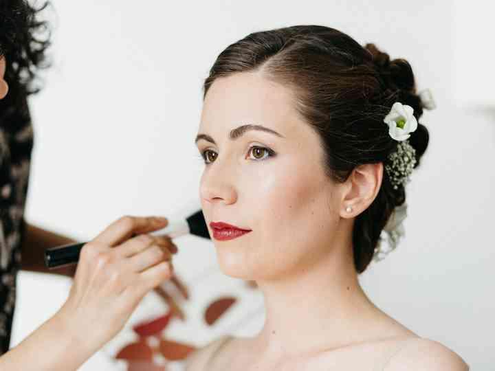 Moderne Maquillage de mariée pour yeux marron : les bons choix OO-28