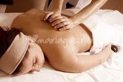 Se faire masser la veille du mariage