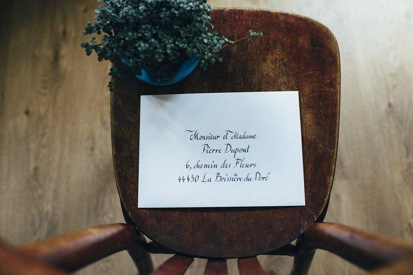 Célèbre 8 idées originales pour les enveloppes des faire-part de mariage PT16