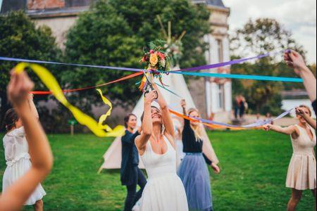 Décorez les lieux de votre mariage avec des rubans !