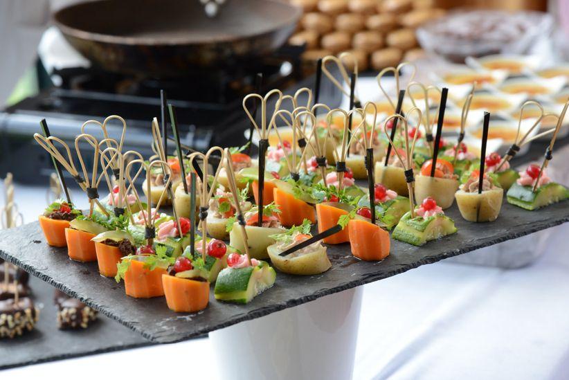 8 conseils pour organiser un buffet de mariage - Deco pour buffet froid ...