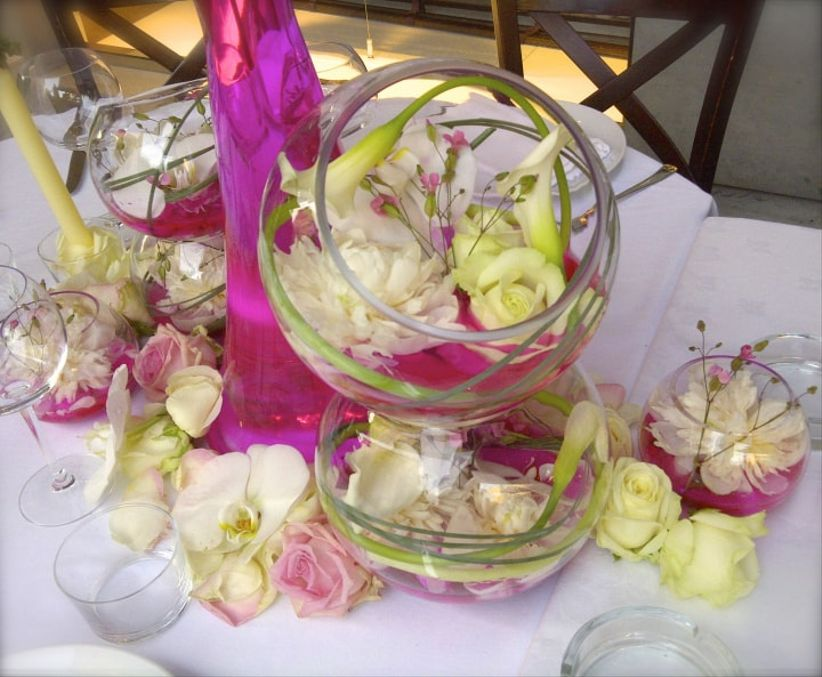 Connu idées de centres de table avec fleurs EN14