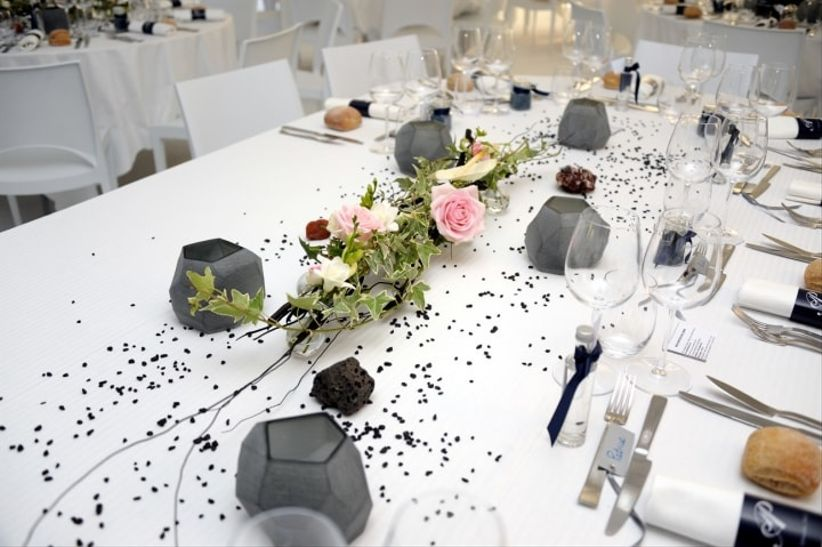 13 d corations de tables de mariage for Decoration table mariage
