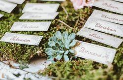 23 idées pour allier plan de table et végétation