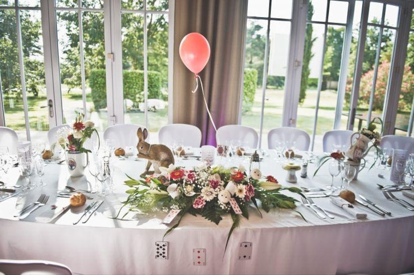 Decoration Table D Honneur Mariage : Idées pour décorer la table d honneur des mariés