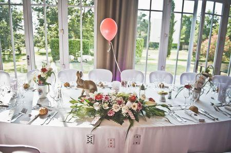 5 id�es pour d�corer la table d'honneur des mari�s