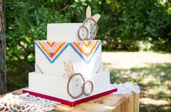 35 geometric cakes : undessert tendance sous toutes les formes