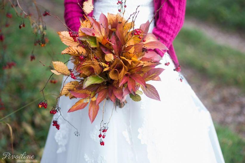 35 bouquets de mari e d automne pour vous inspirer. Black Bedroom Furniture Sets. Home Design Ideas