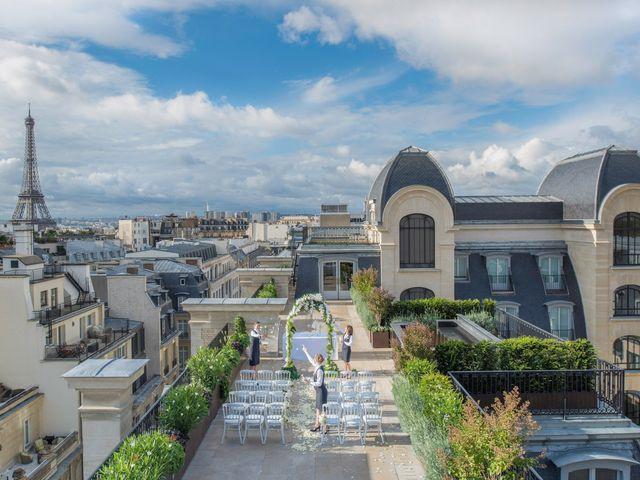 Rooftop pour votre réception : votre mariage prendra de la hauteur !