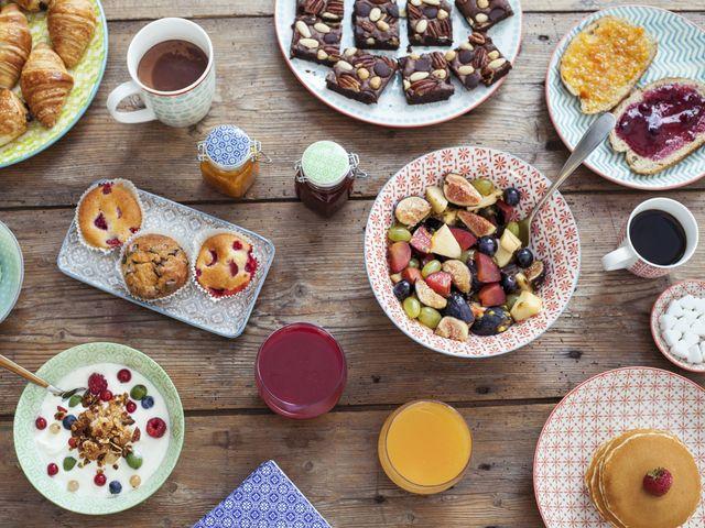 6 options pour le petit-déjeuner du jour du mariage