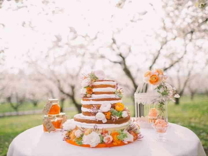 40 Gâteaux De Mariage Surmontés De Fruits Et De Fleurs On