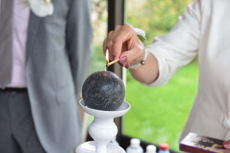 Le rituel de la bougie pour un mariage laïc