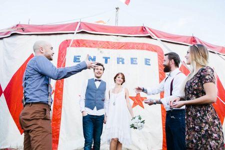 Nos idées pour un mariage sur le thème du cirque