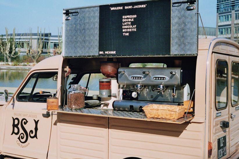 Cafés Mobiles by Brûlerie Saint Jacques