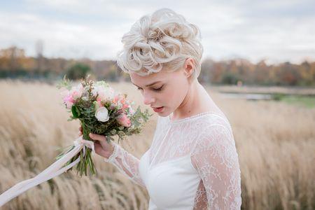 Cheveux très courts ? 4 coiffures de mariée pour le grand jour