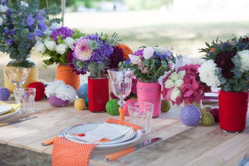 15 Idées De Centres De Table Avec Fleurs
