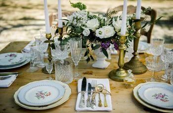 Combien de couverts pour un repas de mariage à table ?