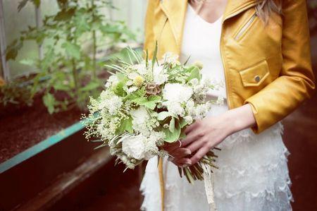 Mariée en perfecto : l'accessoire rock'n'roll ultime mais pas que !