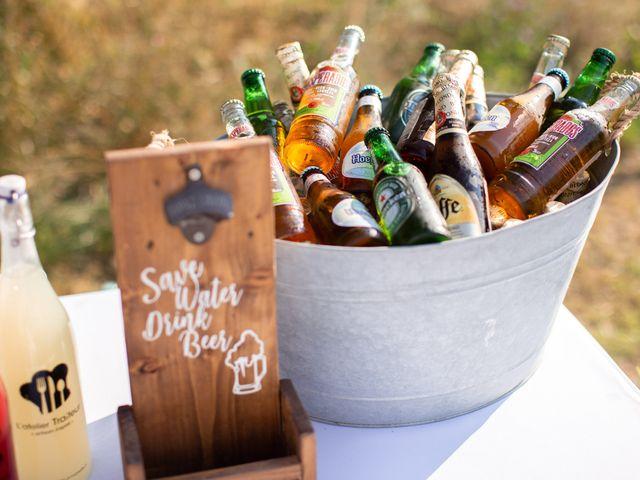 8 façons de maintenir les boissons du mariage bien fraîches