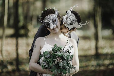 Des masques pour le jour J : les 5 idées les plus à la mode