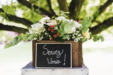8 décorations de mariage que vos invités pourront emporter