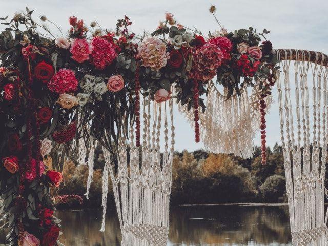 Macramé : l'élément déco parfait pour un mariage boho