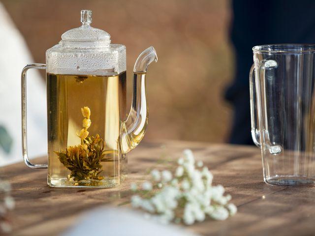 Le rituel de la fleur de thé pour votre cérémonie laïque