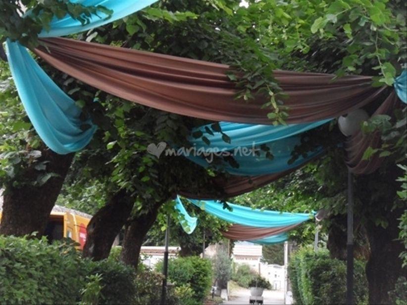 D corer un mariage en plein air for Arnal decoration