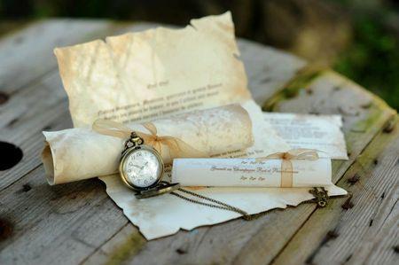 25 faire-part de mariage 100% vintage
