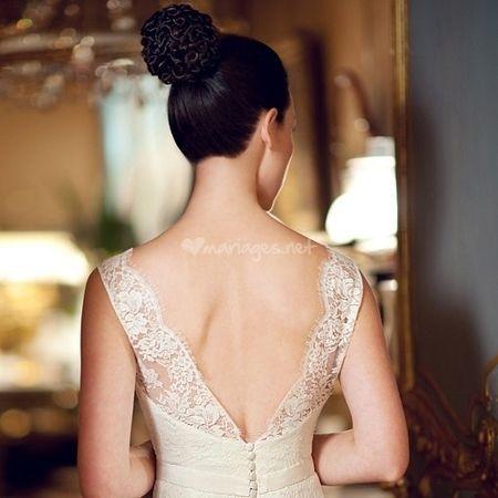 Les robes de mariée avec dos nu