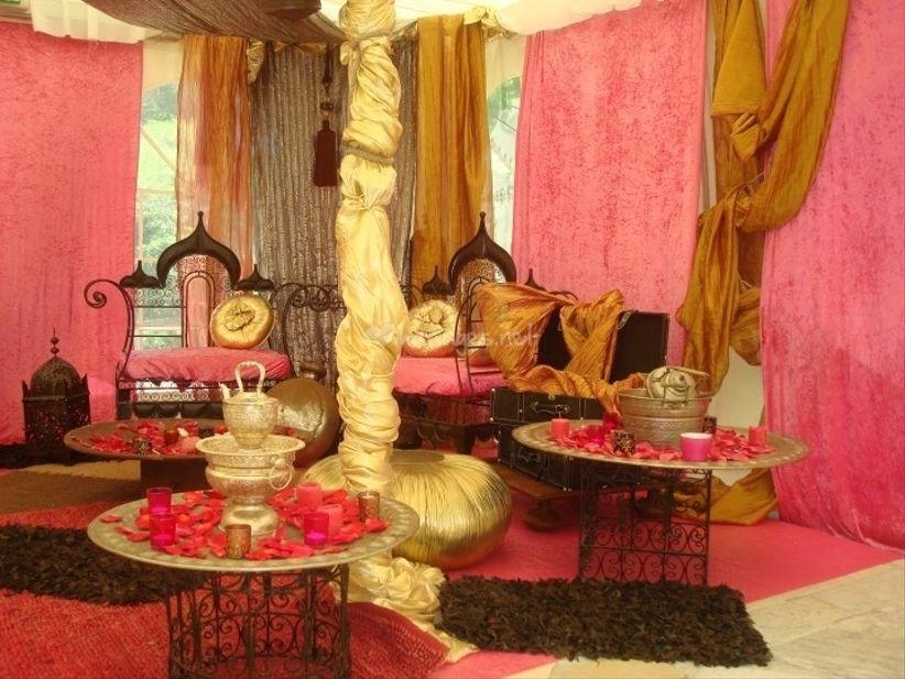 Tout ce qu 39 il faut pour un mariage musulman for Decoration kabyle