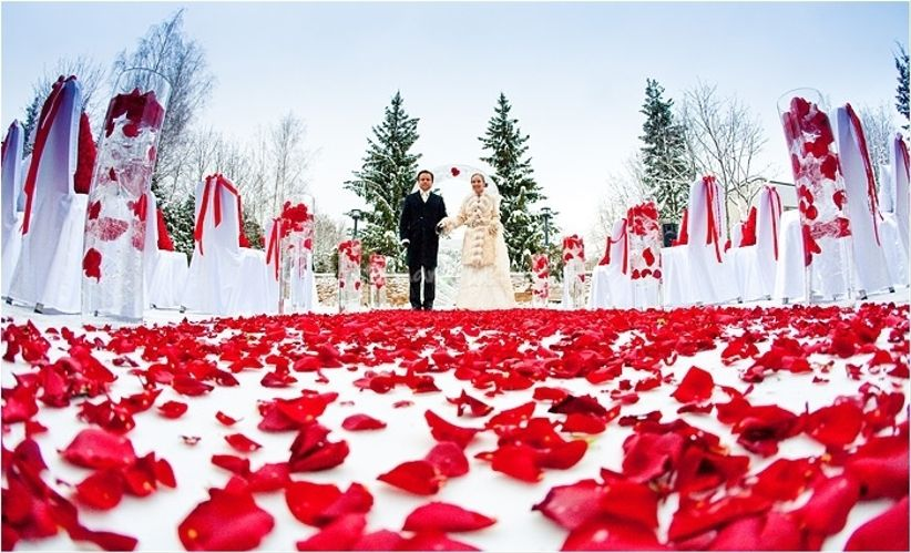 Décorer un mariage en plein air