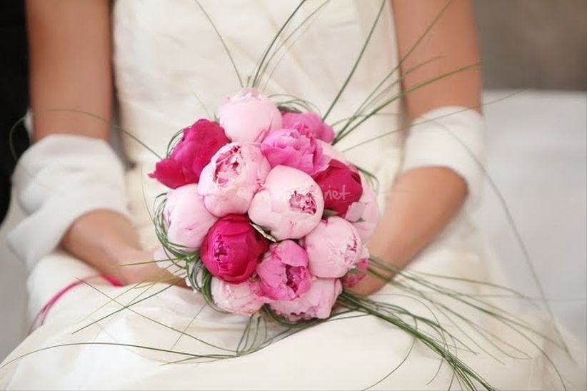 Des pivoines pour le bouquet de la mari e - Le bouquet de la mariee ...