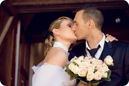Collier en dentelle pour la mariée