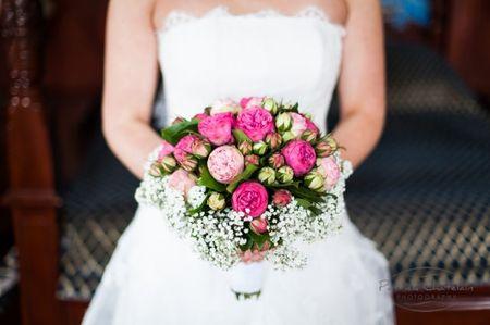 Des pivoines pour le bouquet de la mari�e