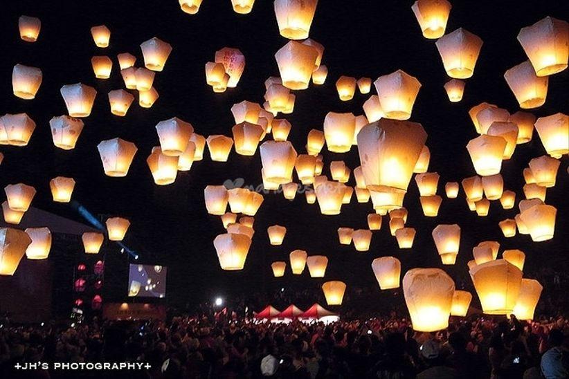 le mariage aux lanternes