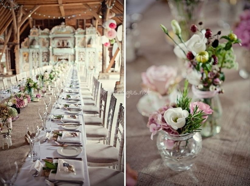 Photo par farandoll - Petit centre de table floral ...